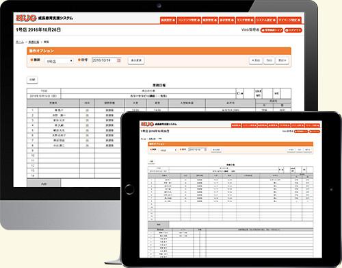 業務日報画面